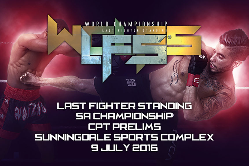 Last Fighter Standing Comes To Cape Town This July (#LFSWC)