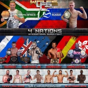 BREAKING NEWS: Final Fight Card Released For SA Final on 15th Oct
